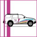 Stickers voitures